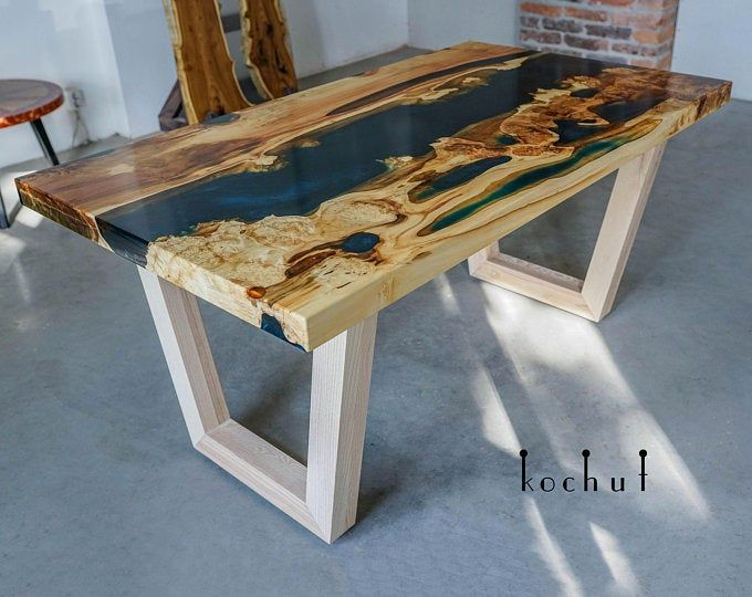 Epoxy Conference Tablebig Size Tablecommercial Etsy Round Kitchen Table Live Edge Dining Table Maple Dining Table