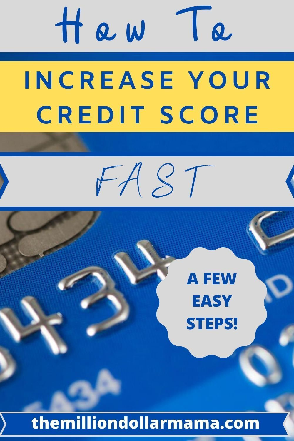 How To Increase Your Credit Score With No Credit History In 2020 Credit Score Improve Your Credit Score Credit History