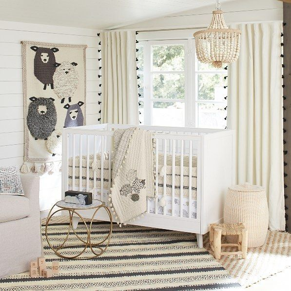 Not Only Will Some Very Cute And Fuzzy Sheep Help Baby Get