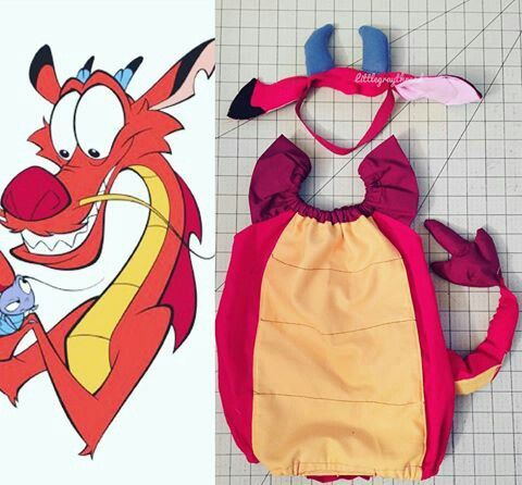 Mulan mushu halloween costume Girls Baby Idea | stuff and nonsense ...