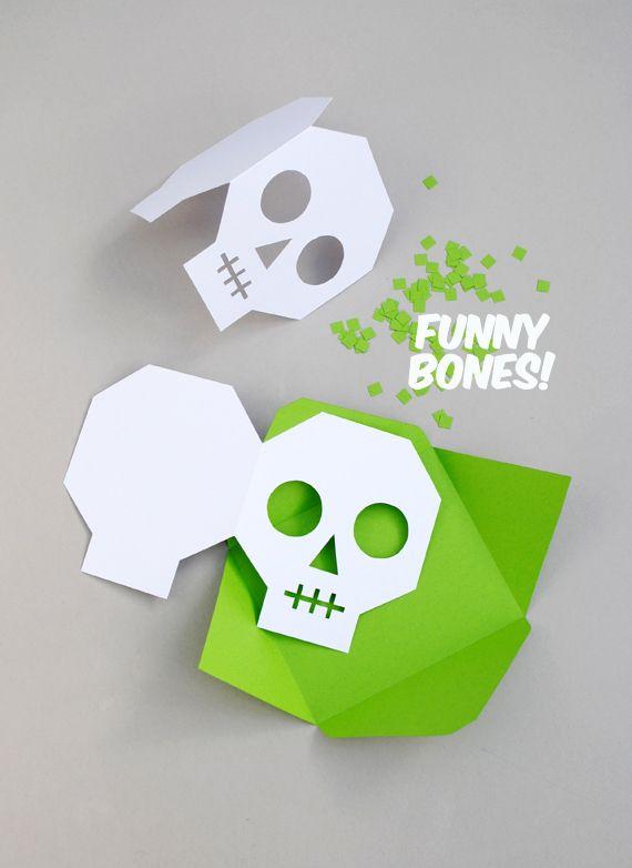 DIY Halloween Invitations // Minieco