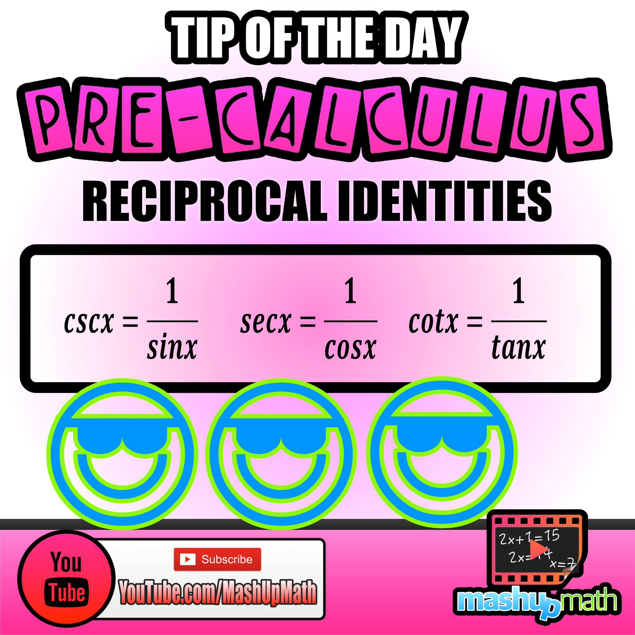 Do You Know The Reciprocal Identities For The Trigonometry