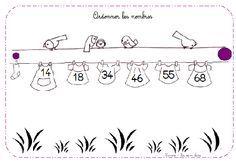 atelier ordonner les nombres - Nurvero - La vie en classe