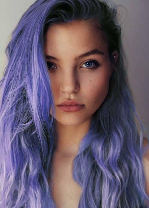 hair tumblr | ... purple hair face st close up dyed hair hair ...