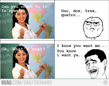 hahaa I always had this song stuck on my head in spanish class last year