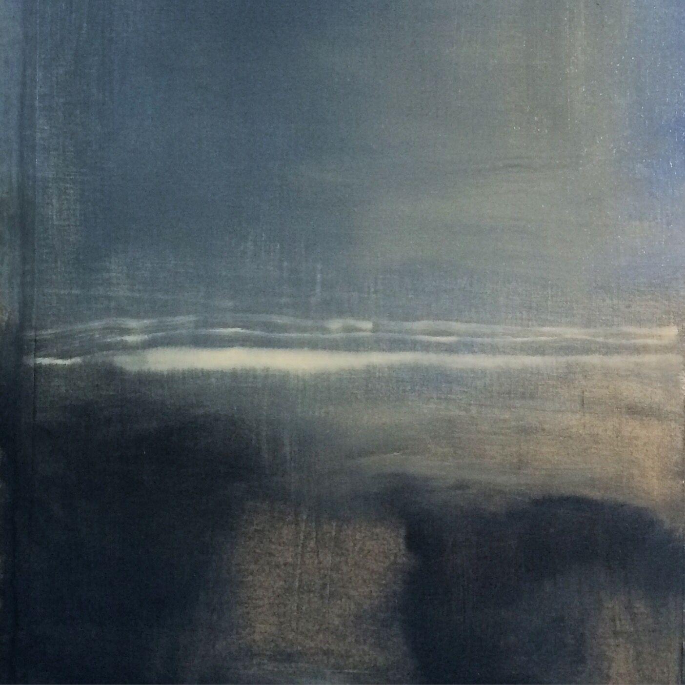 """Dark Seas"", oil painting by Emma Strauss"