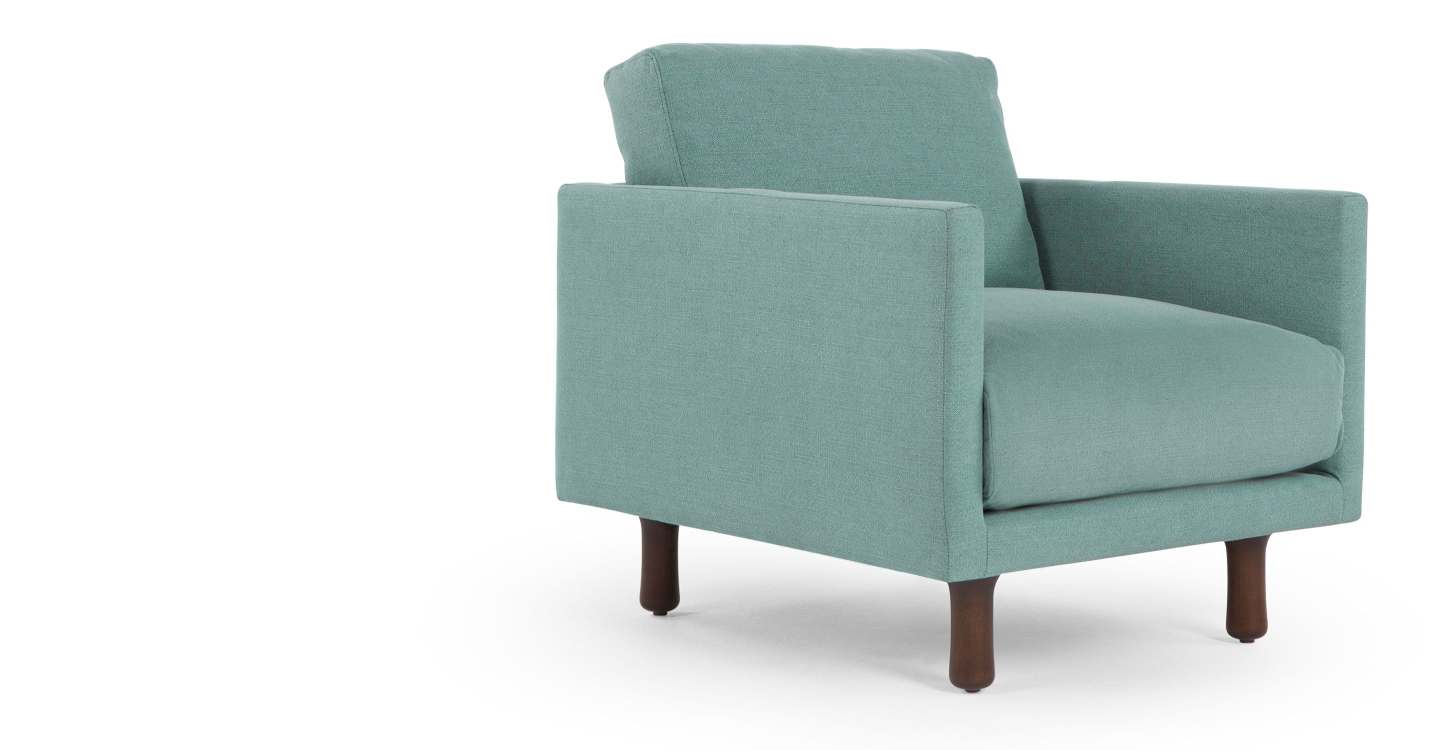 Carey Armchair, Turquoise Linen | made.com (With images ...