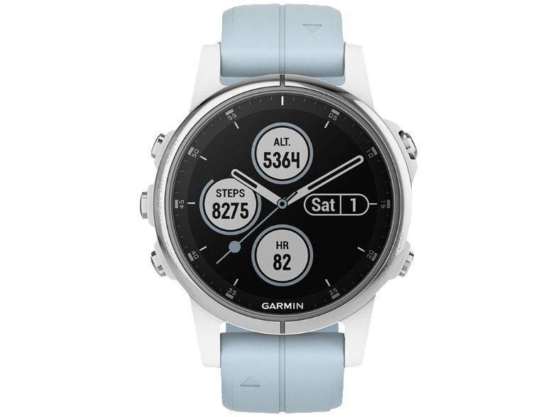 Ebay Sponsored Garmin Fenix5s Plus Smartwatch One Size 20 Mm Weiss Hellblau Neu Smartwatch Ebay Hifi