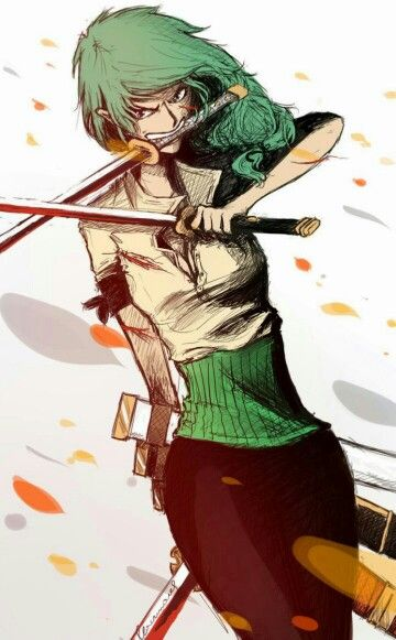 Confirmed Genderbent Zoro Is Still Awesome One Piece Pinterest