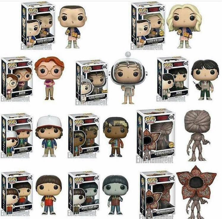 stranger things funko pop i 39 m getting this whole series. Black Bedroom Furniture Sets. Home Design Ideas