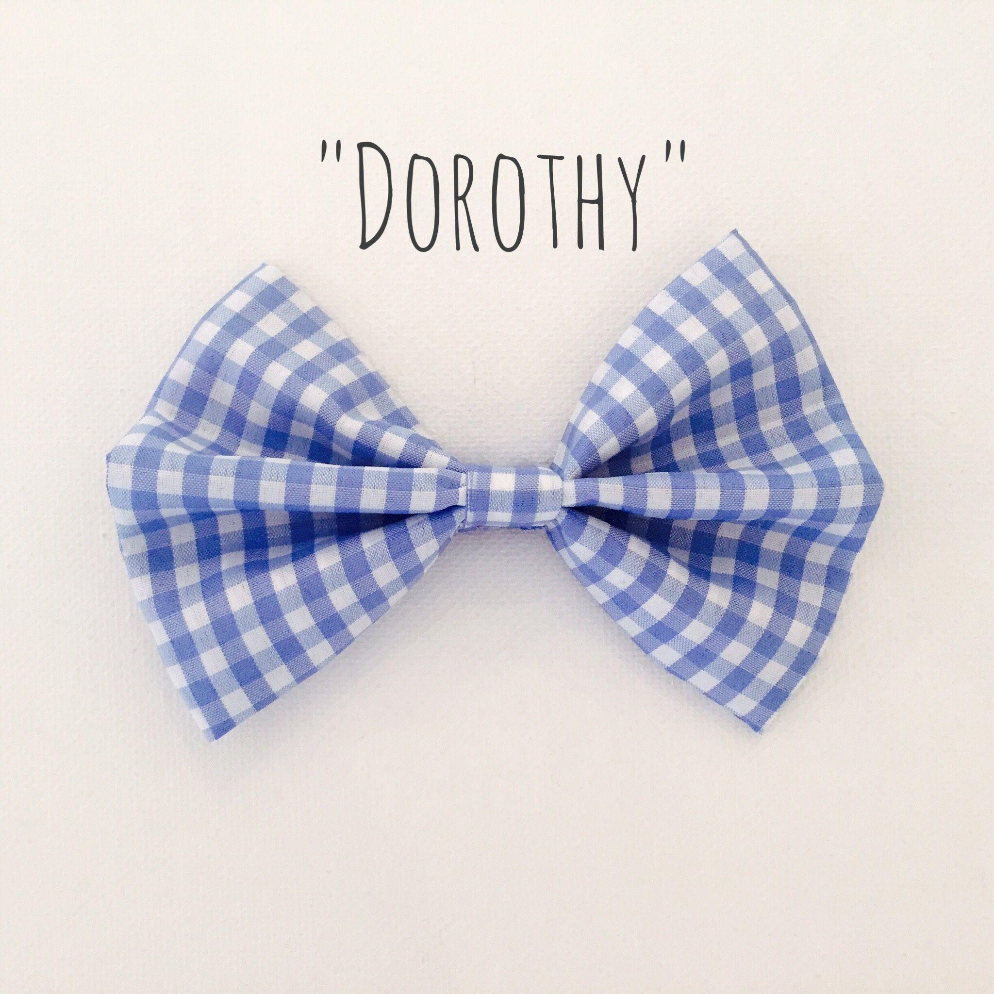 Dorothy Hair Bow Hair Bows Dorothy Bows