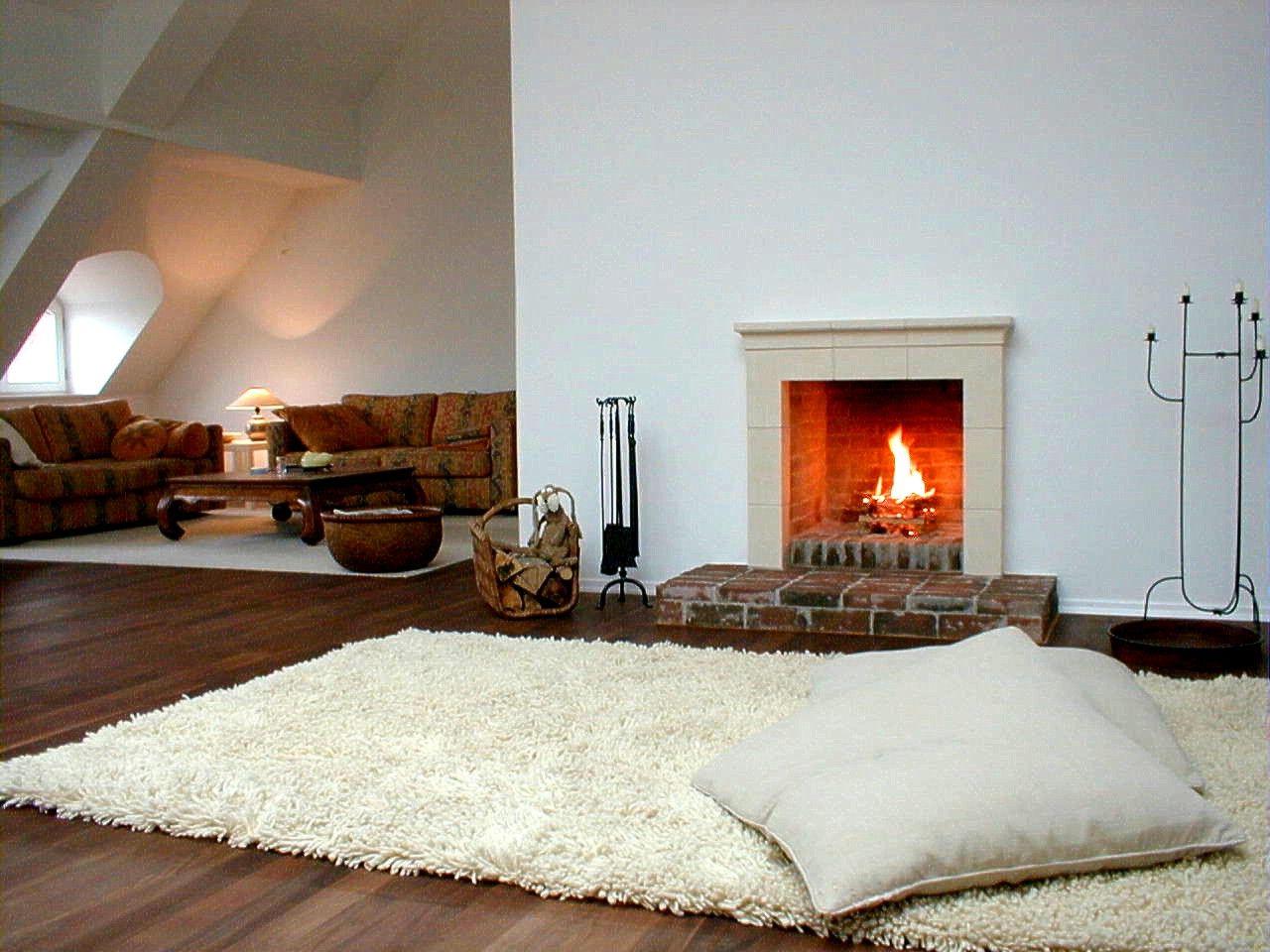 offener kamin #kamin #ofen #fireplace www.ofenkunst.de, Wohnzimmer dekoo