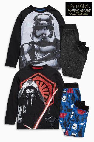 Kupte si Barevné pyžamo Star Wars™, 2 ks (3-12 let) on-line dnes na Next: Česká republika