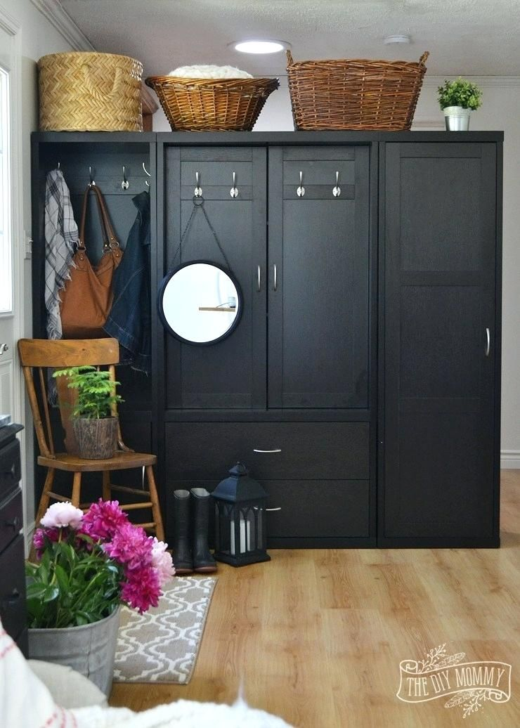 Creating An Entry Using A Cabinet As A Room Divider Our Guest Cabinet Room Dividers Room Dividers Divider Cabinet Diy Room Divider Cabinets For Sale
