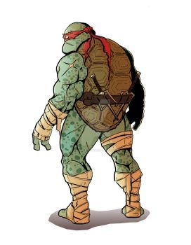 Raphael is Cool But Crude by D-pi on DeviantArt