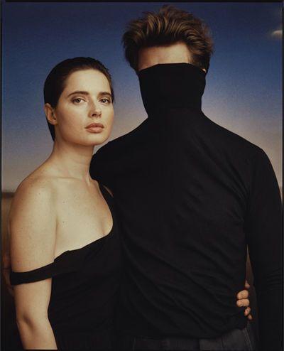 Isabella Rossellini and David Lynch, New York City, 1986, by Annie Leibovitz
