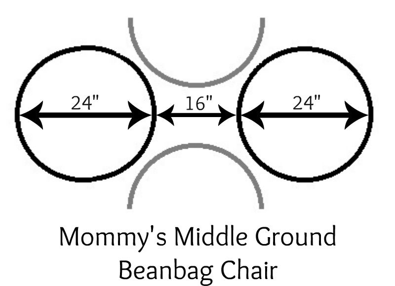 Mommys Middle Ground Beanbag Chair Tutorial