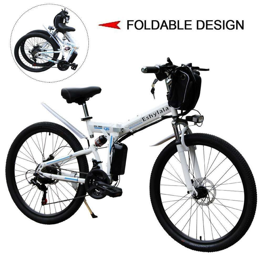 Ebay Sponsored Eshylala Folding Electric Bikes City Mountain