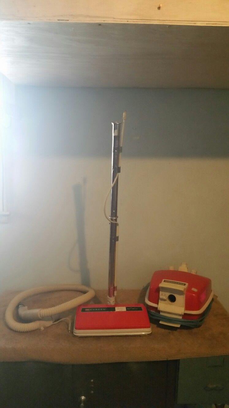 Eureka Roto Matic Canister Vacuum Cleaner Vintage Model