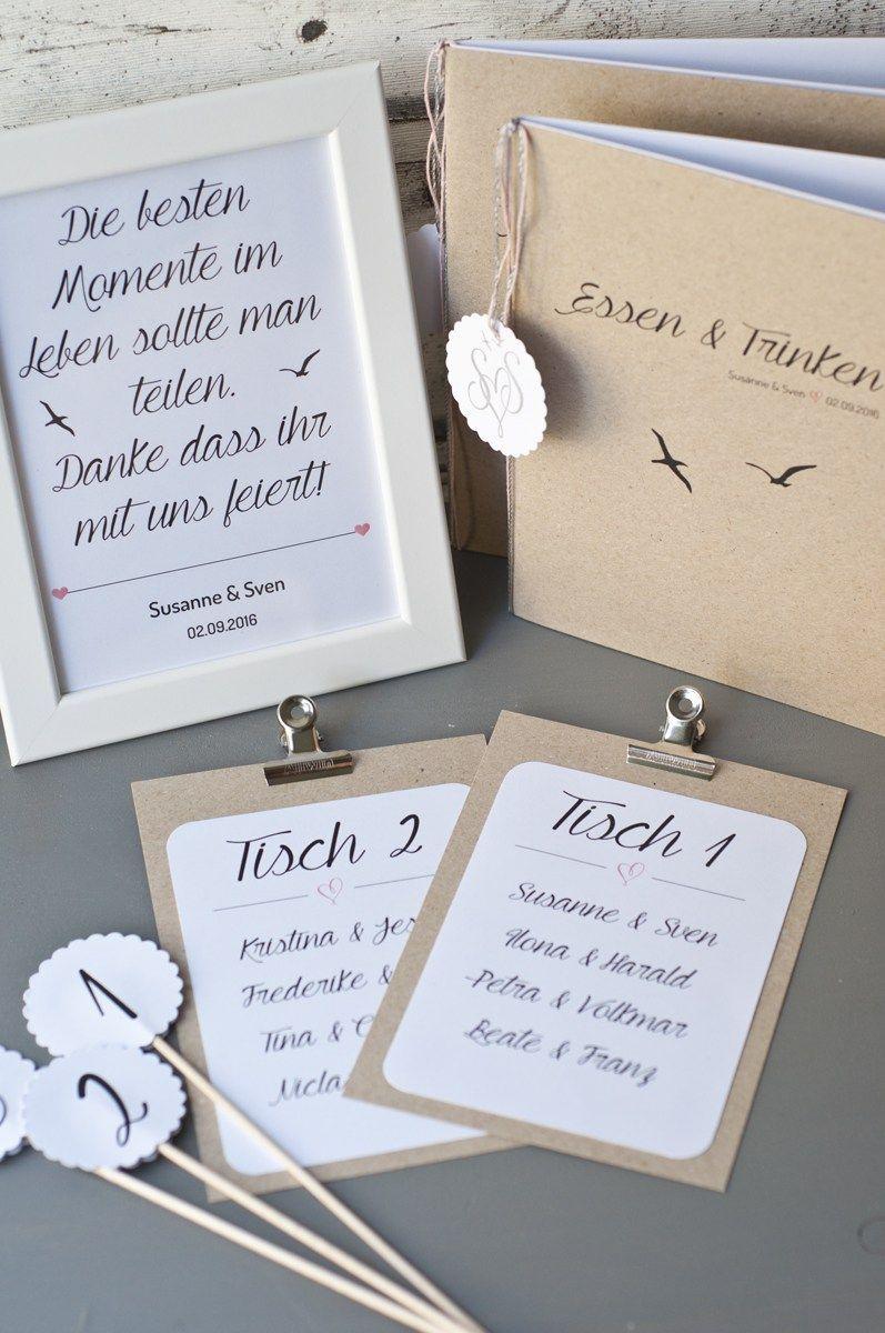 Papelería y decoración de bodas Serendipity
