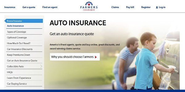 Farmers Insurance Quote Farmers Auto Insurance Review  Auto Insurance  Pinterest  Farmers