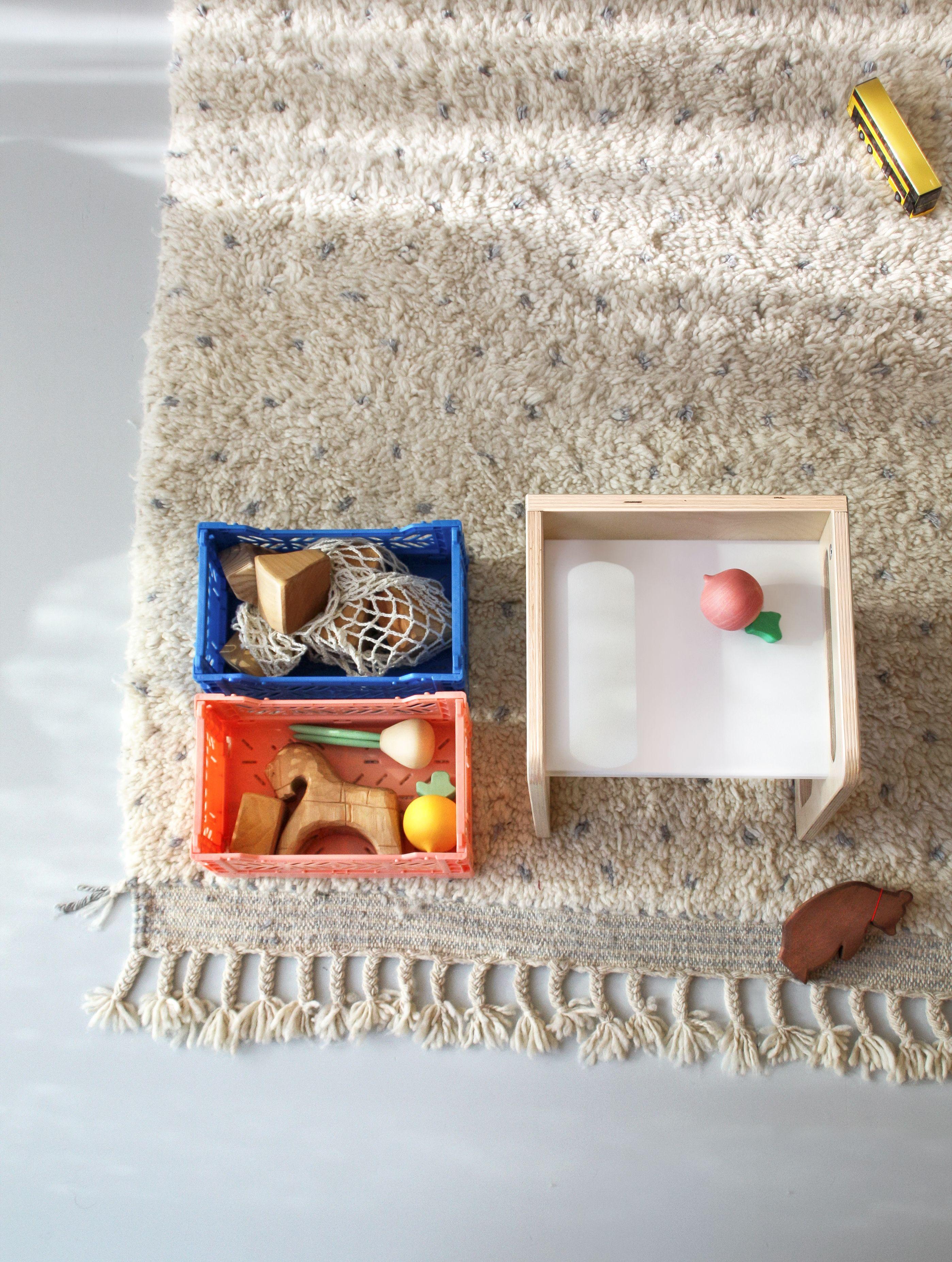 Ay Kasa Klappbox Mini Box Kinder Mobel Baby Pink