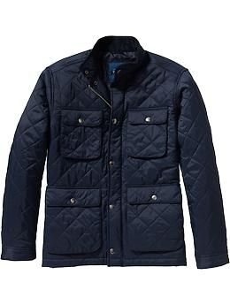 Men S Quilted Barn Jackets Old Navy Man Quilt Mens Outfits Old Navy Men
