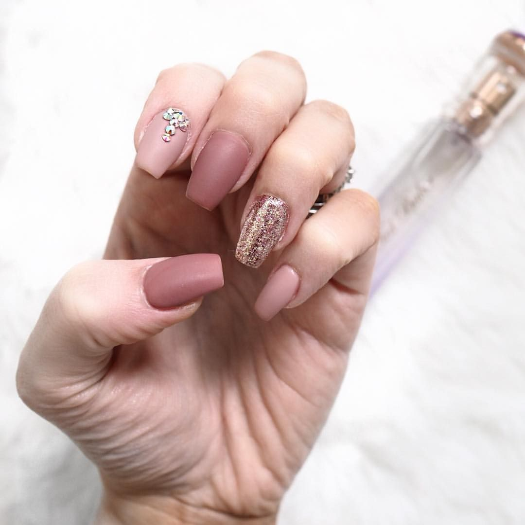 Matte Nude Nails Autumn Fall Spectacular Nails Pinterest Nails