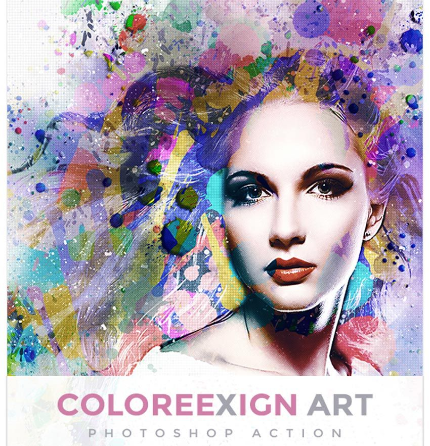 20 Cool Photoshop Watercolor Effects Filters With Texture