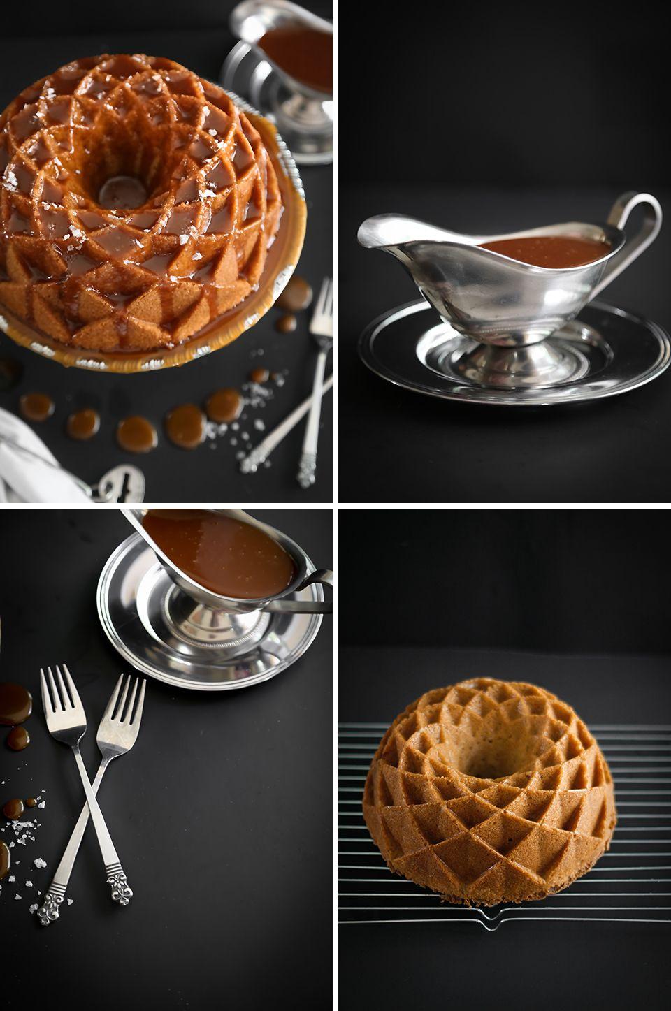Salted Caramel Snickerdoodle Bundt Cake | Sprinkle Bakes