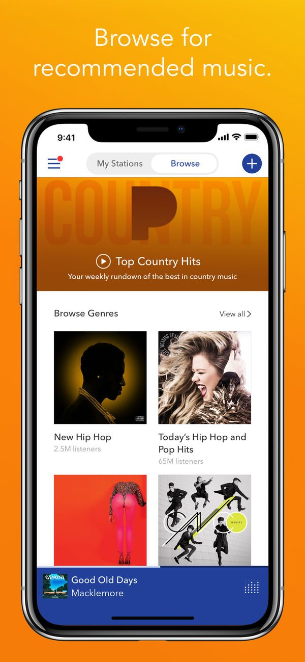 ‎Pandora Music on the App Store Music, Free apps for