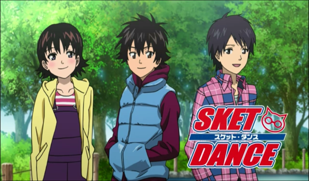 SKET Dance ~ Onihime, Bossun, and Switch as young teens ...