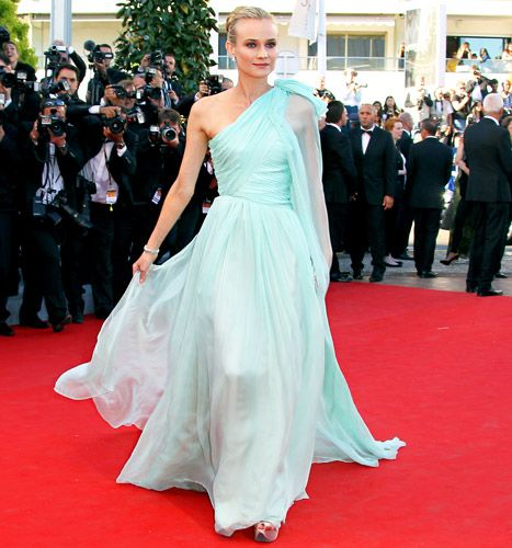 """Diane Kruger arrives for the screening of """"Moonrise Kingdom"""" at the 65th Cannes film festival on May 16, 2012."""