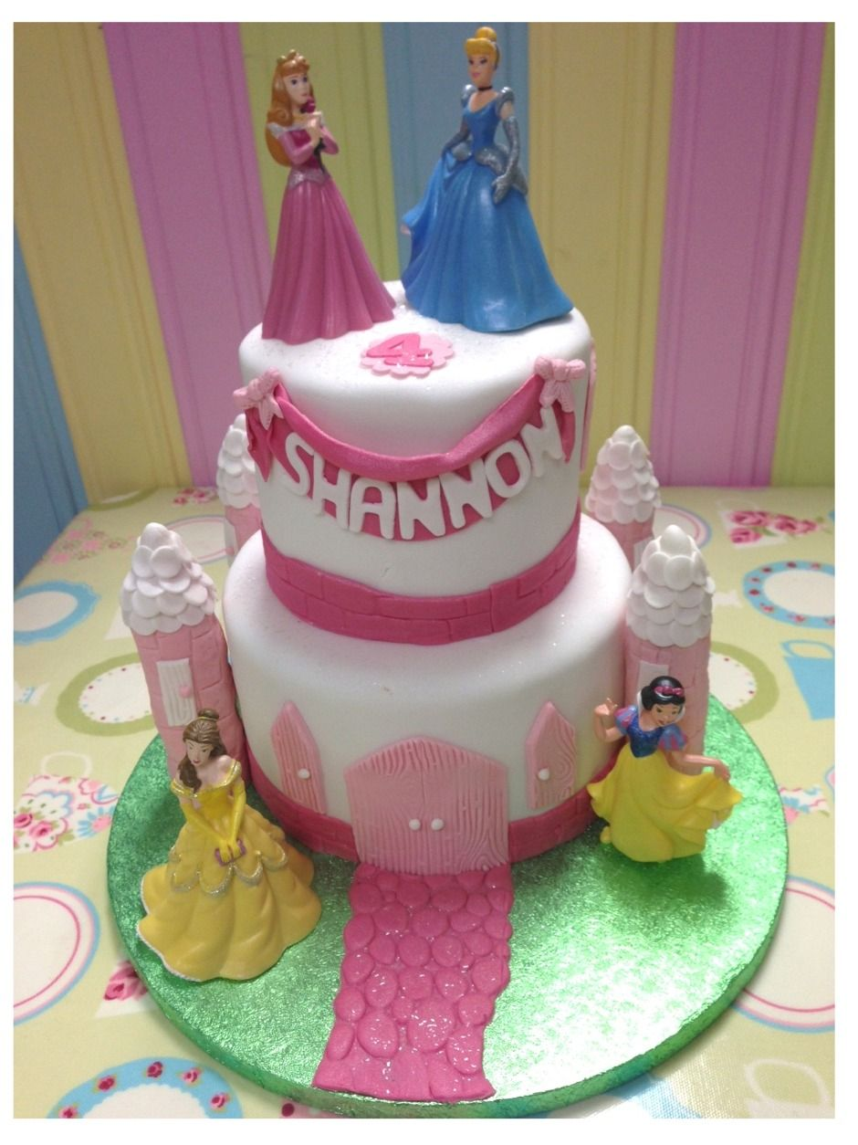 princess cakes for little girls Mesmerizing Twotiers Disney