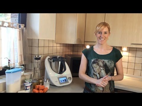 Thermomix - Karotten-Curry-Cremesuppe - Möhrensuppe - YouTube