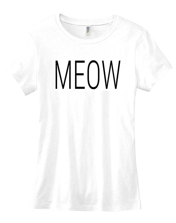 997d329e4 Meow graphic t-shirt funny slogan womens sassy instagram tublr Funny Slogans,  Tween Girls