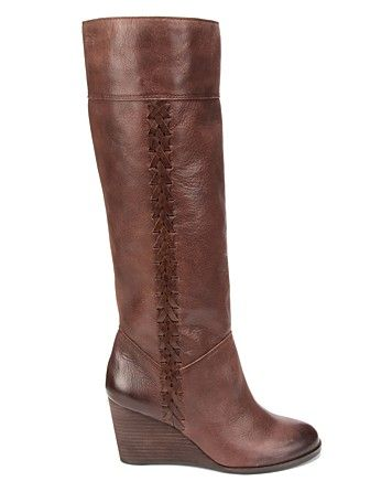 130fd7f61537 Lucky Brand Tall Wedge Boots - Sanna - Shoes - Bloomingdale s