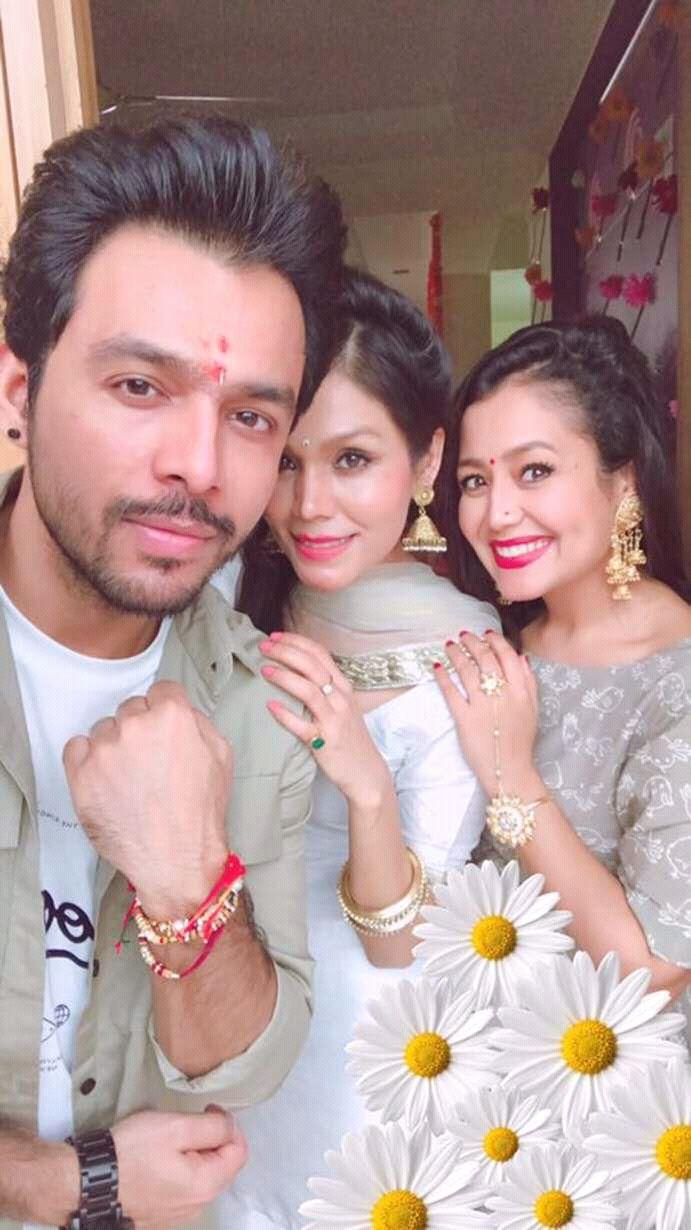 Neha Kakkar Happy Raksha Bandhan Neha Kakkar Sonu Kakkar Bollywood