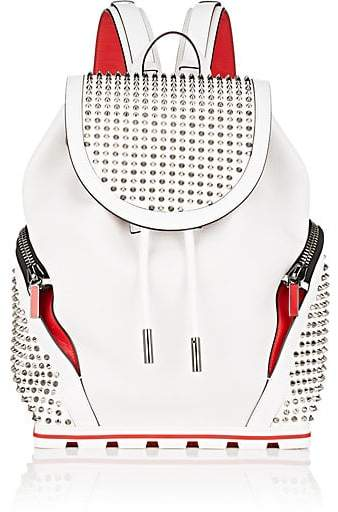 70358af76ac Christian Louboutin Men's Explorafunk Backpack - White | Products in ...