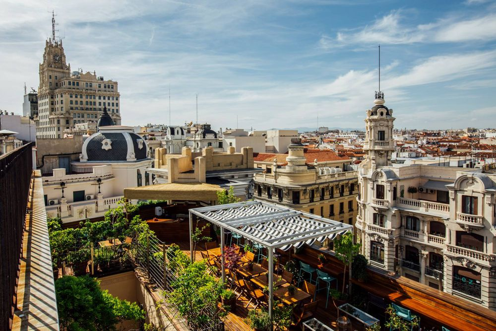 La Terraza Del Florida Retiro Terrazas Madrid Viajar Por Espana Lugares Preciosos