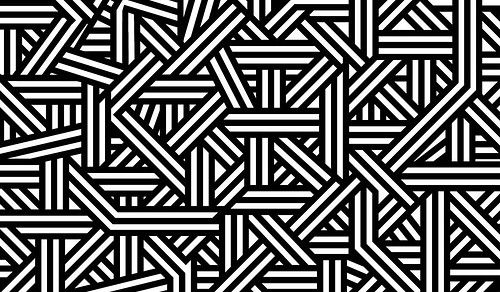 Black And White Design Pattern Black And White Shapes Background
