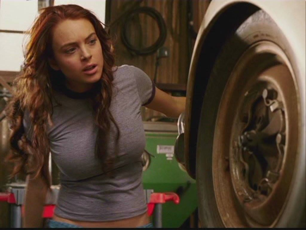 Lindsay Lohan in 'Herbie Fully Loaded,' 2005 - Photos - The life ...