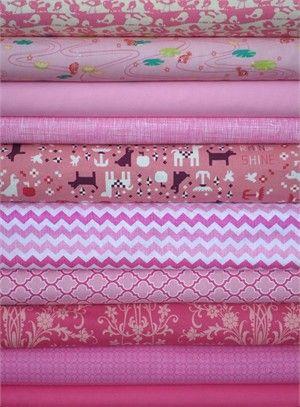 Fabricworm Custom Bundle, Como se Llama in FAT QUARTERS 10 Total