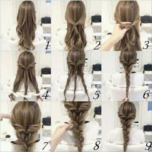 An awesome and easy hairstyle