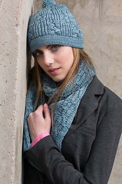 Ravelry: Wandren Scarf pattern by Carina Spencer  Knitscene, Accessories 2014
