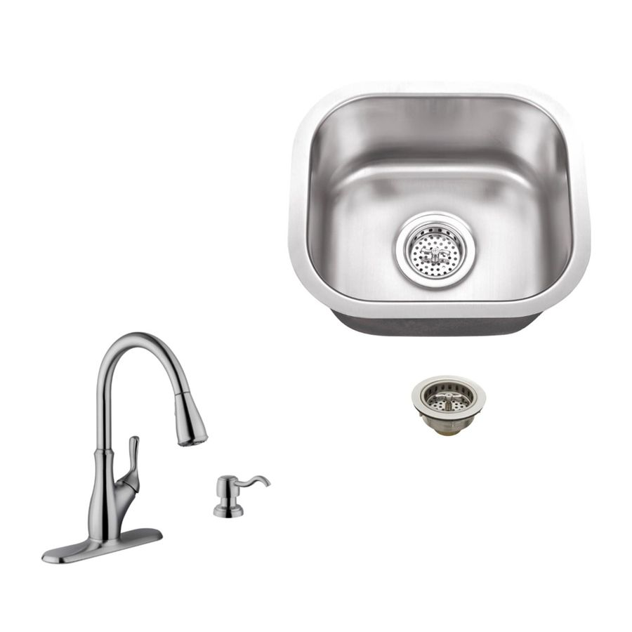 Superior Sinks Brushed Satin Single Bowl Stainless Steel Undermount Residential Bar Sink Spsbsp7636 In 2020 Bar Sink Sink Stainless Steel