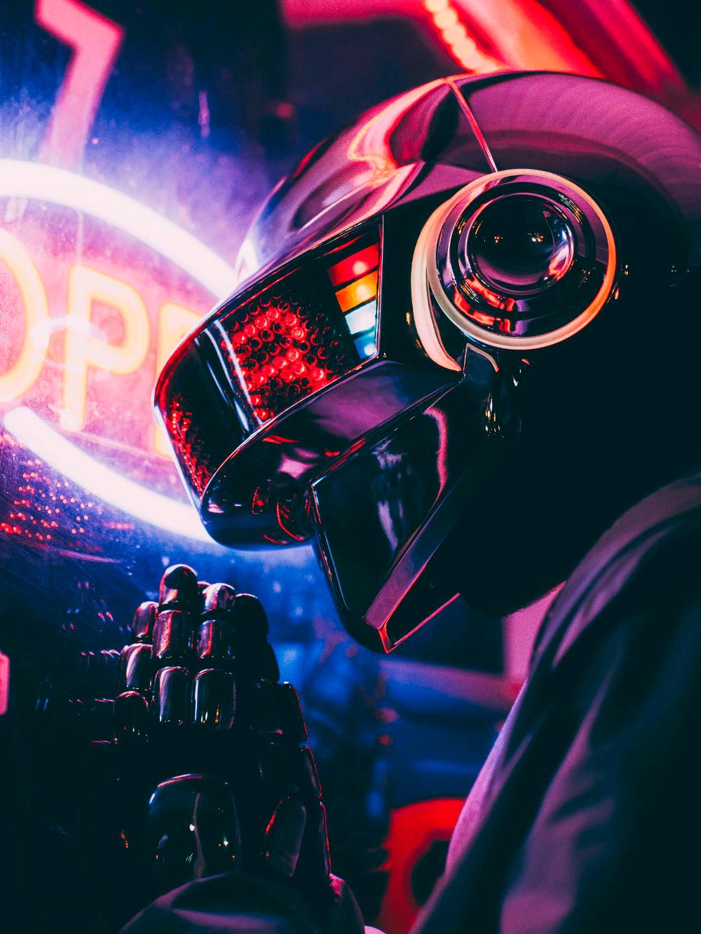 Thomas Bangalter Cosplay with my brother : DaftPunk in 2020 | Thomas  bangalter, Retro futurism, Cyberpunk aesthetic