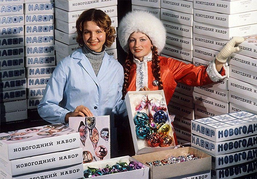 Новый год в СССР 1980-е   Ретро фотография, Советский союз ...