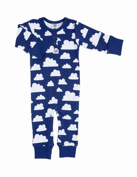 536d0291c7 Farg Form Clouds Baby Grow - Blue £22.50 | Baby- und Kindermode ...