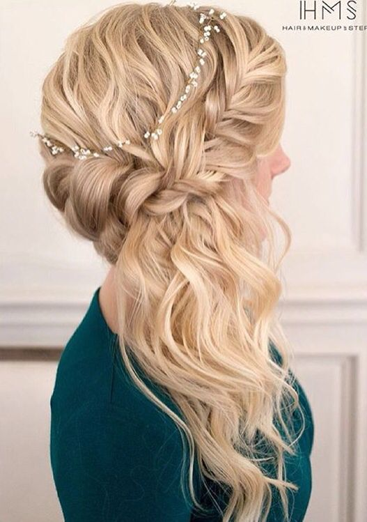 Side Hair Twist For Prom Braided Prom Hair Side Hairstyles Hair Styles